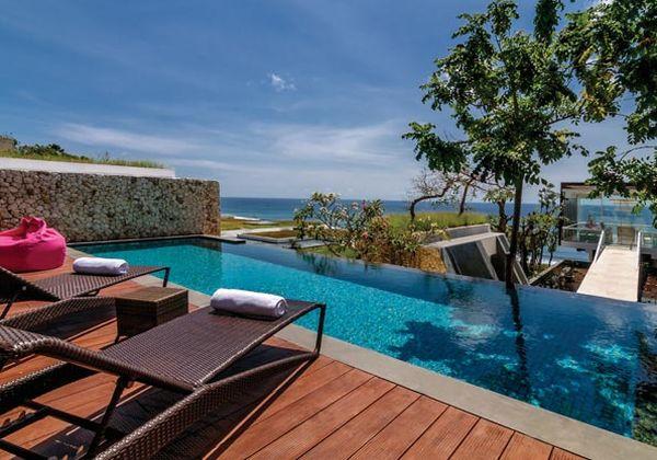 Two Bedroom Ocean Front Pool Villa