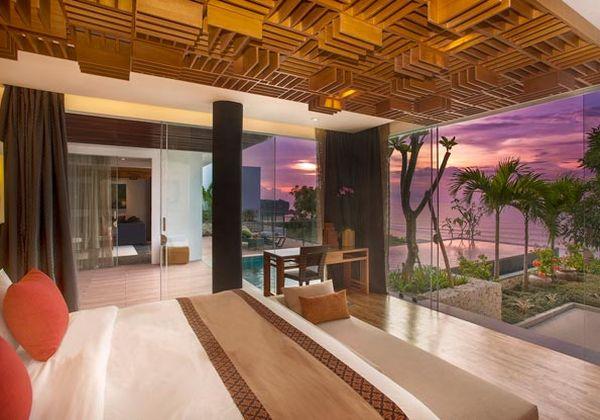 Three Bedroom Ocean Front Pool Villa