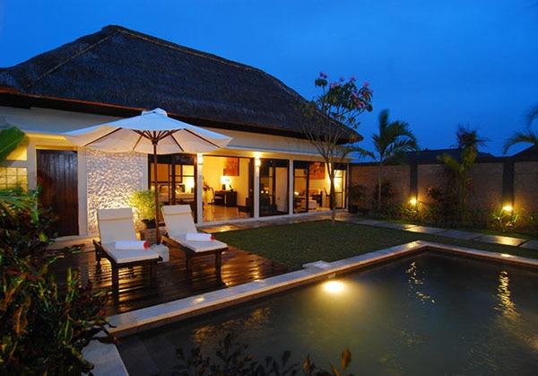 Deluxe One Bedroom Villa Pool