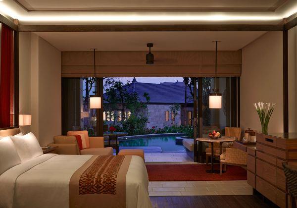 The Sawangan Junior Suite Pool Access