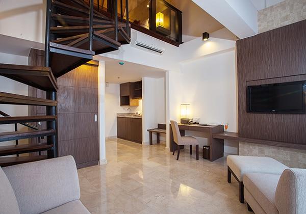 Studio Loft Livingroom