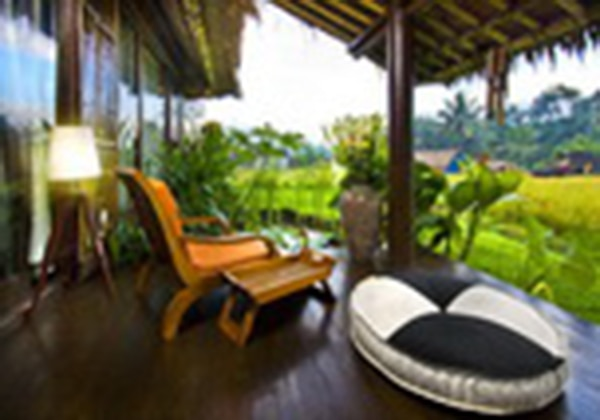 Balinese Bungalow Terrace