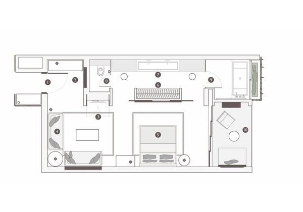 Alila Ocean View Suite