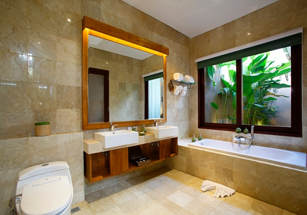 One Bedroom Villa (Bathroom)