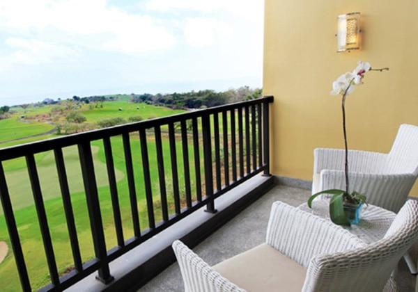 Dluxe suite balcon
