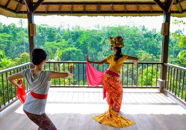 Balinese Legong Dance Lesson