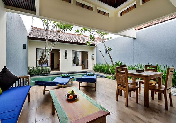 Living Room - 2 Bedroom Villa