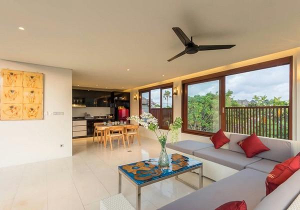 Living Room 2Bedroom Villa