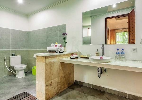 deluxe cottage bathroom