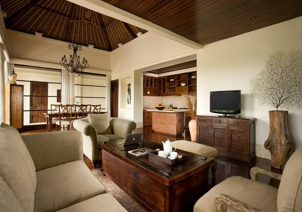 Valley View Pool Villa Living Area