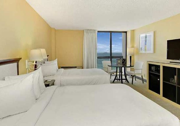 2 DOUBLE BEDS OCEAN VIEW-BALCONY-SMOKING