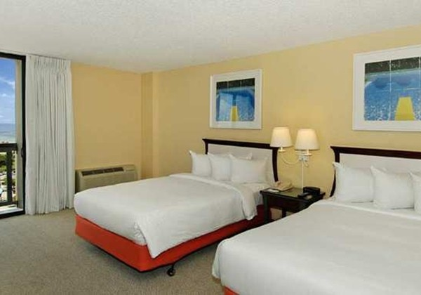 2DOUBLE BEDS PARTIAL OCEAN VW-BLCNY-SMK