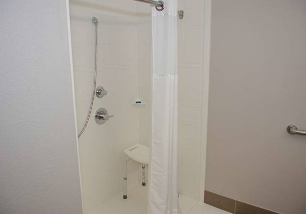 King Mobility Accessible Guest Bathroom