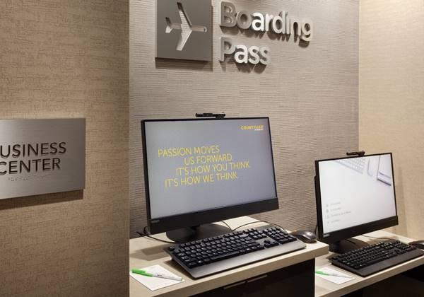 Business Center & Boarding Pass