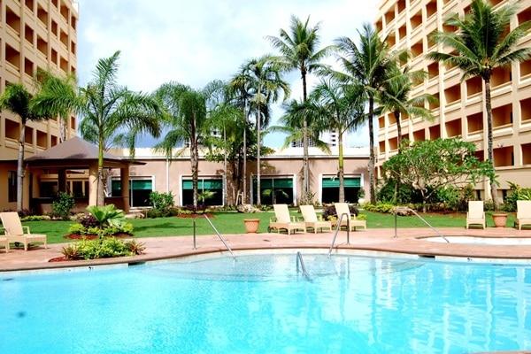グアムプラザ リゾート&スパ  , グアム ホテル