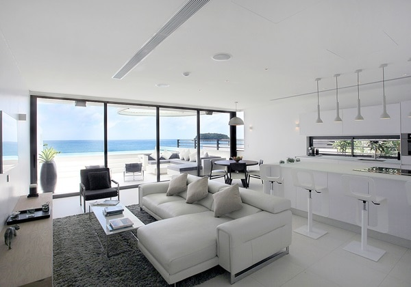 LIVING AREA(1 BEDROOM SKY VILLA)