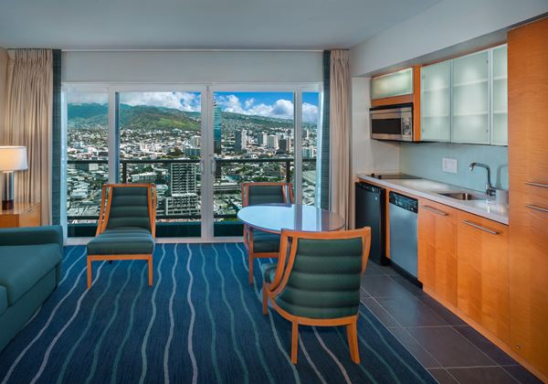Waikiki Tower Gest Room