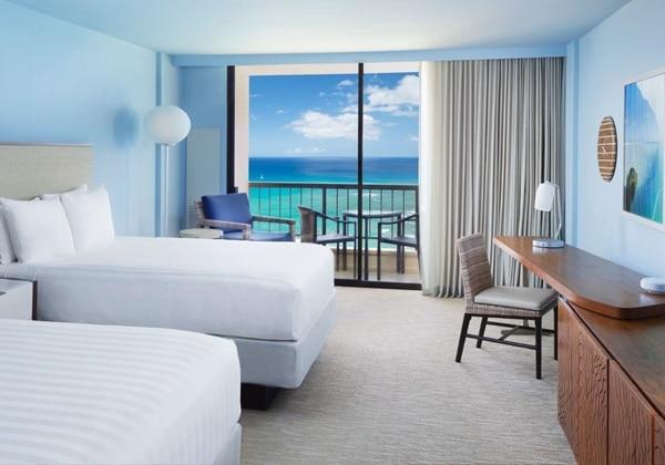 2 Queen Beds, Ocean Front