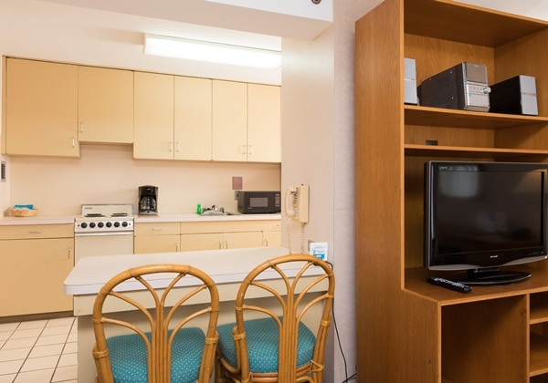 1Bedroom Suite Kitchen