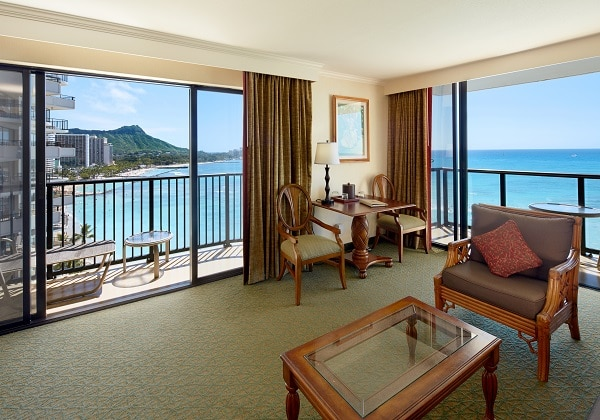 1Bedroom Diamond Head Ocean Front Suite