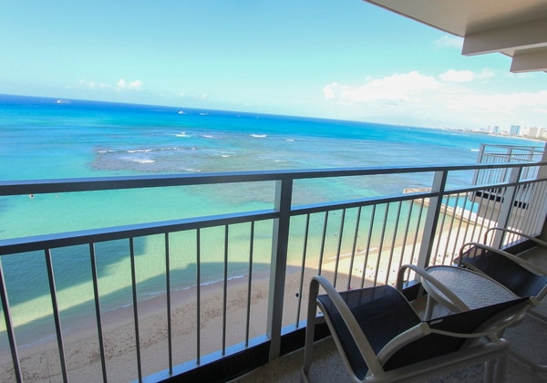 Ocean Front Waikiki Deluxe