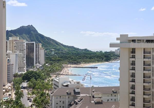 View from LeaLea Deluxe Ocean Waikiki Pa