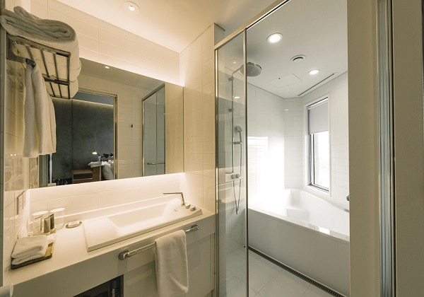 Deluxe Double bathroom 2