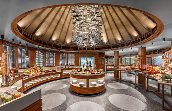 「フシ・カフェ」メインレストラン