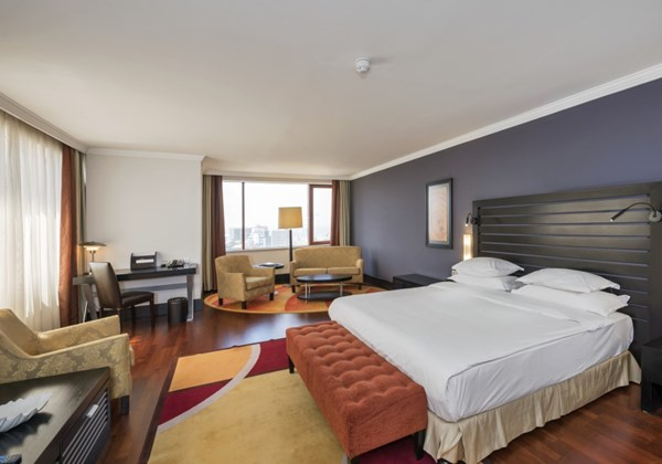 Superior conner double room