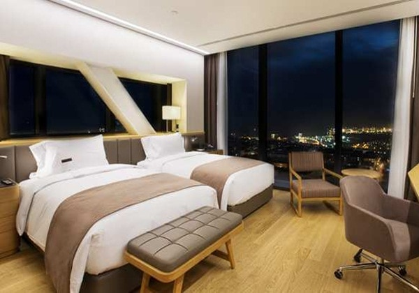 2 TWIN DELUXE ROOM WITH PANORAMIC VIEW
