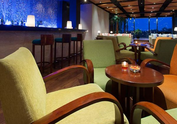 Detail of Suko Wine Lounge