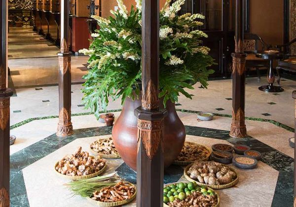 Lobby of Taman Sari Royal Heritage Spa