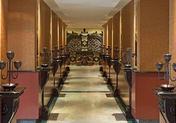 Hallway of Taman Sari Royal Heritage Spa