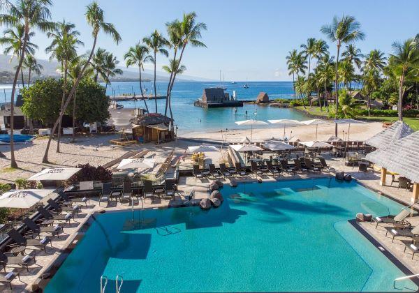 コートヤード キングカメハメハズ コナビーチ ホテル , ハワイ島 ホテル