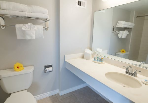 regular room bath room