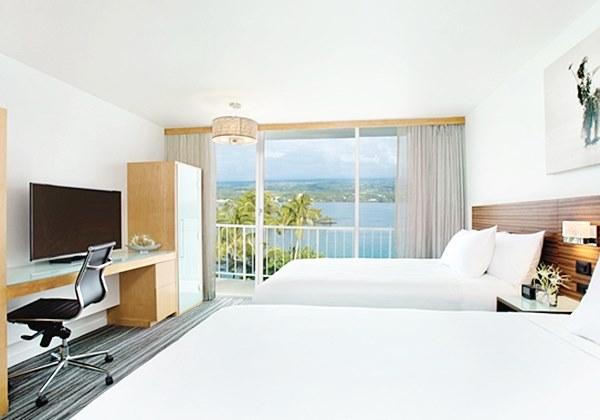 2 Queen Bed Ocean View