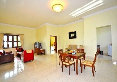 Private Deluxe Villa Living Room