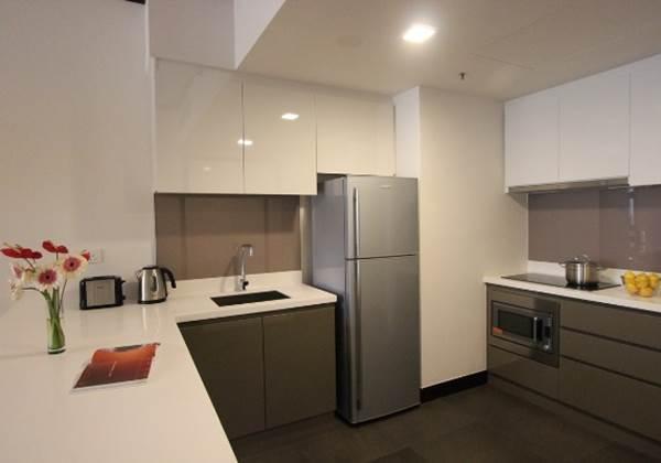 One Bedroom Deluxe Kitchen Type1