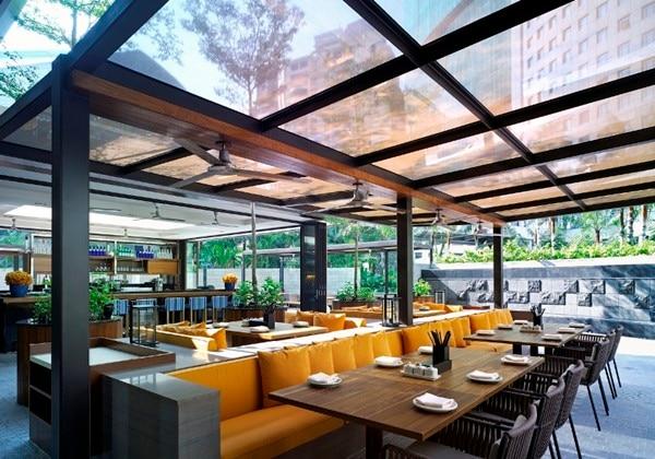 レストラン「JP Teres」