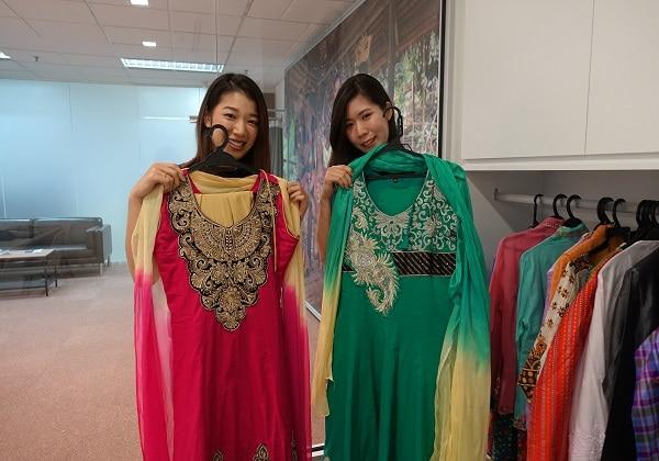 →マレーシア民族衣装レンタル付きプラン ※イメージです
