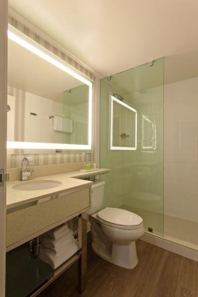 Standing Shower Bathroom