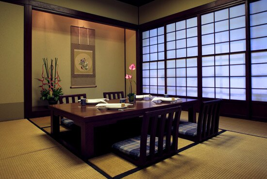 The Japanese Restaurant - Tatami Room