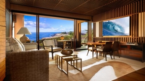 OCEAN VIEW SUITE LIVING ROOM