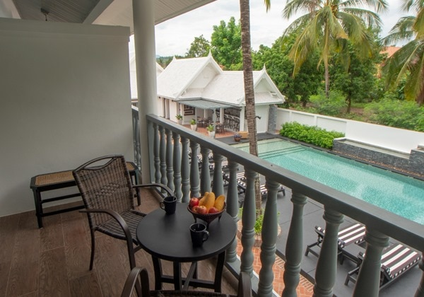 Pool View Room Balcony