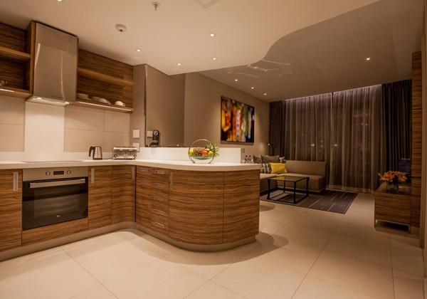 One Bedroom Apartment-kitchen-