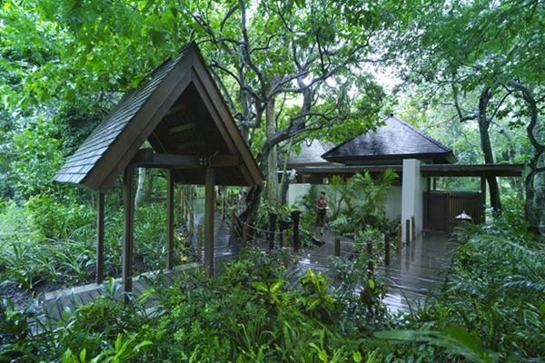 CHI, The Spa - Rainforest Bure Entrance