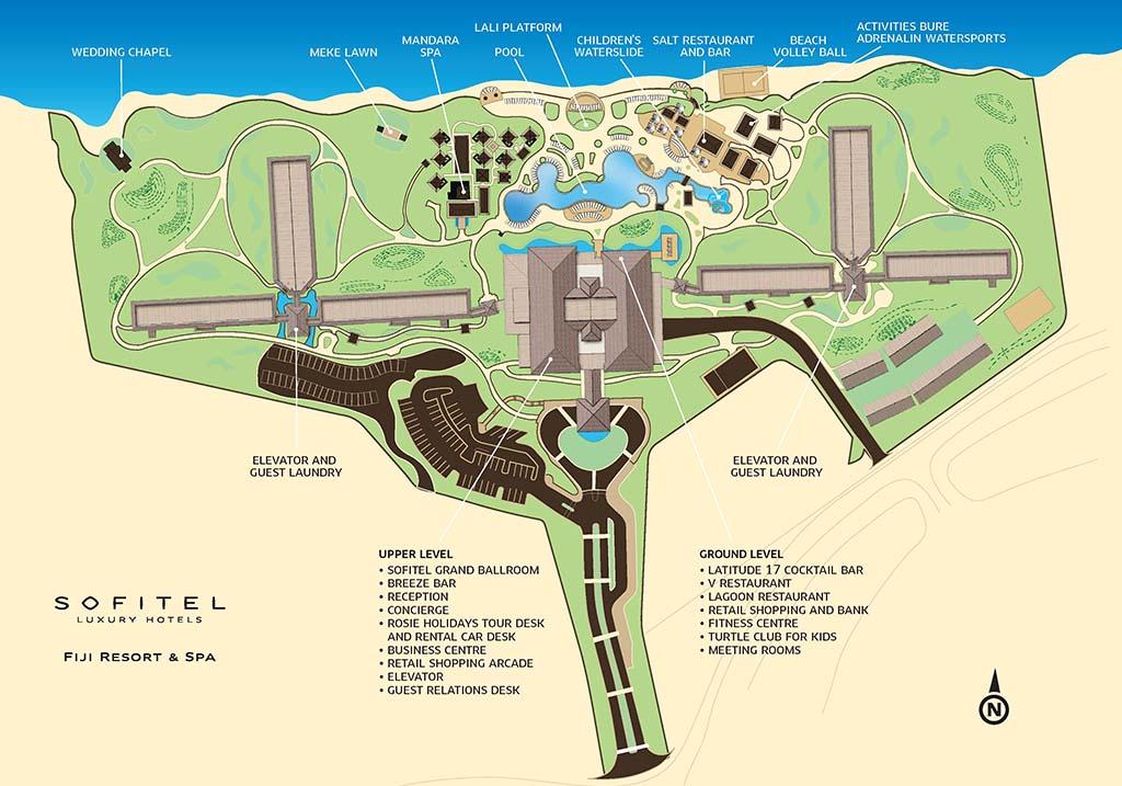 リゾートマップ