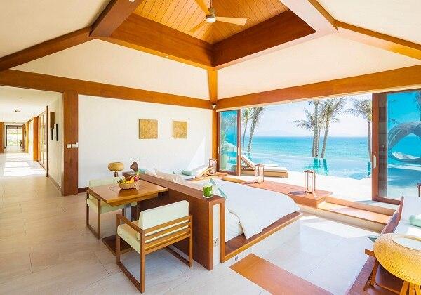 Four Bedroom Beach Front Pool Villa