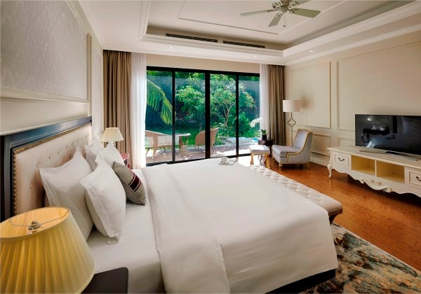 3-Bedroom duplex villa Garden View