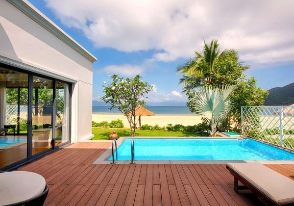 3-Bedroom villa Beachfront View